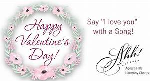 Singing Valentines - Feb 11, 2017 | Agoura Hills Harmony ...