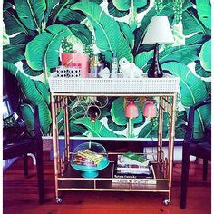 martinique banana leaf wallpaper featured in blanche