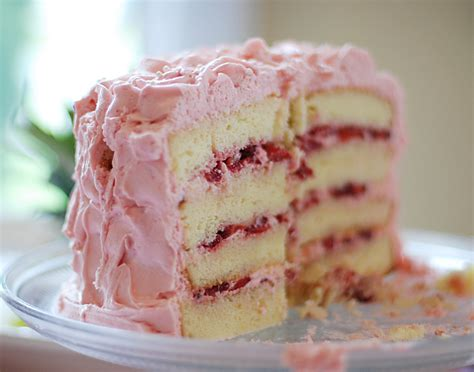 white cake with strawberry filling when eight create 1st birthday cake recipe