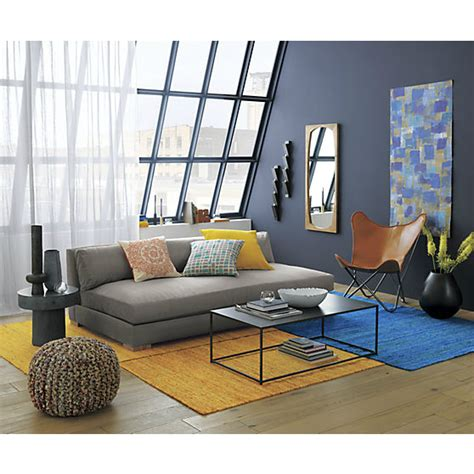 Cb2 Piazza Sofa Cover by 10 Living Room Ideas On A Budget Decoholic