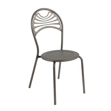 chaise style industriel en m 233 tal cabaret 4 pieds