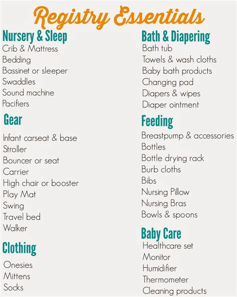 the ultimate registry checklist the chirping