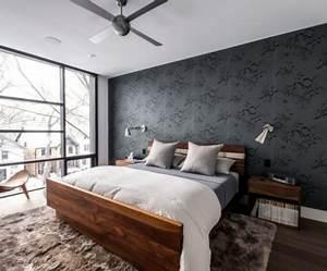Schlafzimmer Design Grau : ideen f r m nnliches schlafzimmer design ~ Markanthonyermac.com Haus und Dekorationen