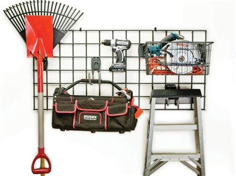 Hyloft Heavy Duty Ceiling Storage Unit by Garage Storage Hooks And Hangers Hgtv