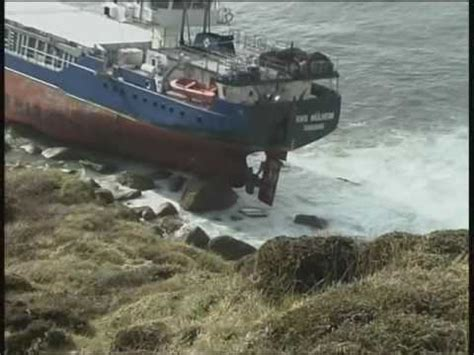 Phoenix Boats Oy by Ms Oliva Runs Aground Tristan Da Cunha Nightingale Is