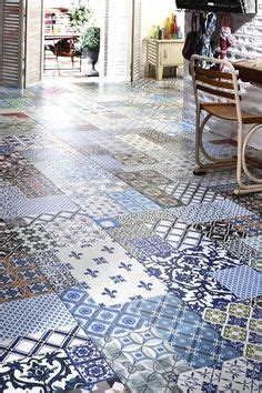 1000 images about carrelage on tile cement tiles and cuisine