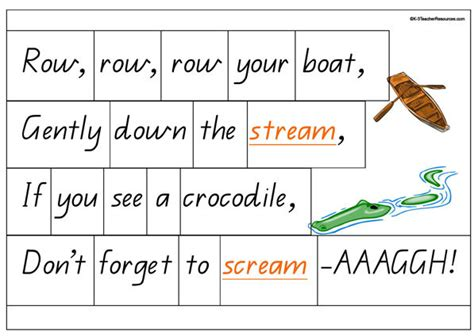 Row Your Boat Full Song by Row Row Row Your Boat K 3 Teacher Resources