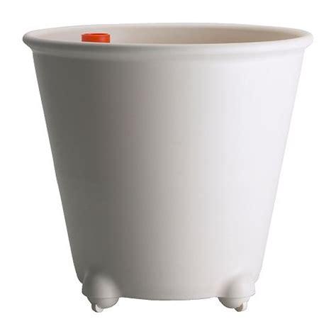 ikea ps fej 214 self watering plant pot white ikea