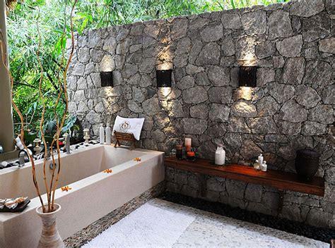 Beautiful Outdoor Bathroom Designs  Quiet Corner