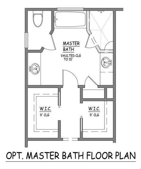 master bath floor plans toilets master bath and bathroom layout