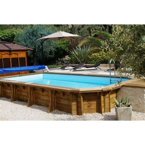 piscine bois rectangulaire semi enterr 233 e