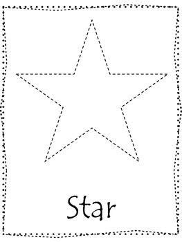Star Shape Worksheets Preschool Star Best Free Printable Worksheets