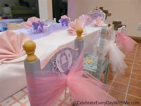 Disney Princess Party {part One}  Celebrate Every Day With Me