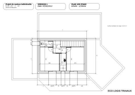 plan de maison moderne 224 toit plat plan gratuit eco logis travaux