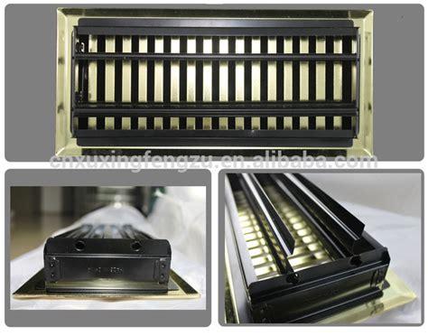 air conditioning decorative return air grille metal floor