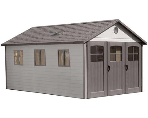 lifetime 8 plastic storage shed extension kit 6422