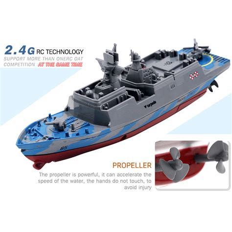 24GHz Remote Control Ship Aircraft Carrier RC Boat