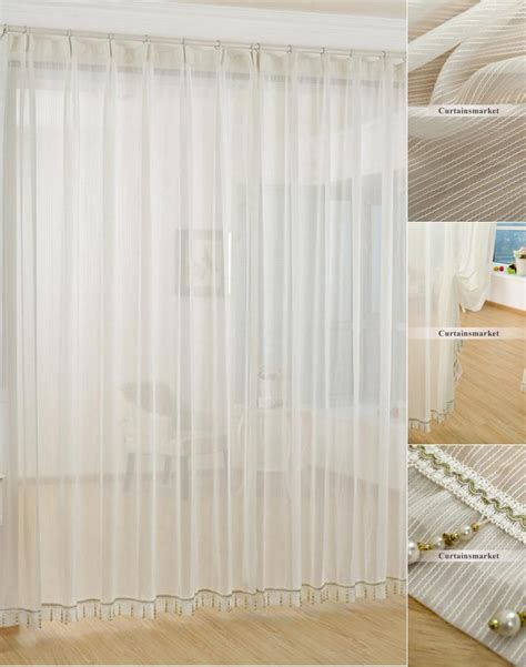 curtain sheers fabric rooms