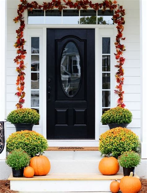 67 and inviting fall front door d 233 cor ideas digsdigs