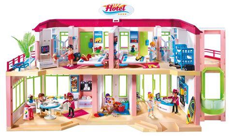 playmobil summer large furnished hotel 5265
