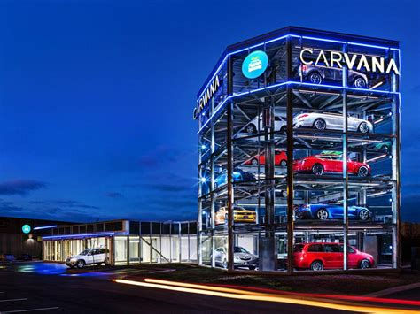 Car Vending Machine In Nashville Could Put Salesmen Out Of