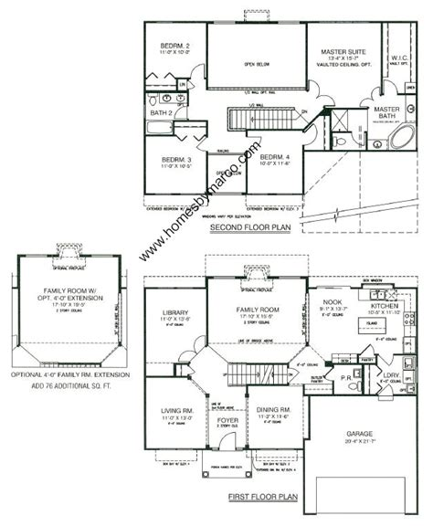 centex homes floor plans 2003