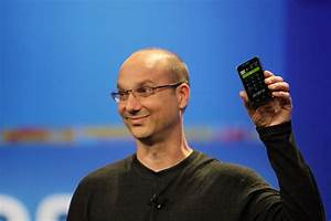 Former Android chief Andy Rubin reportedly developing ...