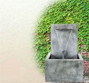 Basteltipps Für Den Garten : moderner wandbrunnen f r den garten aus zink kaufen online shop ~ Markanthonyermac.com Haus und Dekorationen