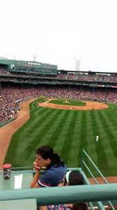 fenway park section bud light roof deck row 2 seat 1 home of boston sox