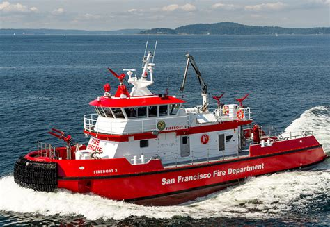New Orleans Fire Boat by San Francisco S Hot New Fireboat Workboat