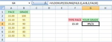 vlookup not finding value in array