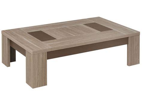 table basse rectangulaire atlanta coloris ch 234 ne fusain vente de table basse conforama