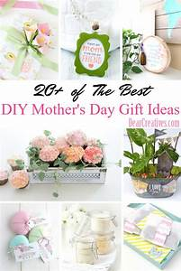 DIY Mother's Day Gifts | 20+ of The Best Gift Ideas for Mom