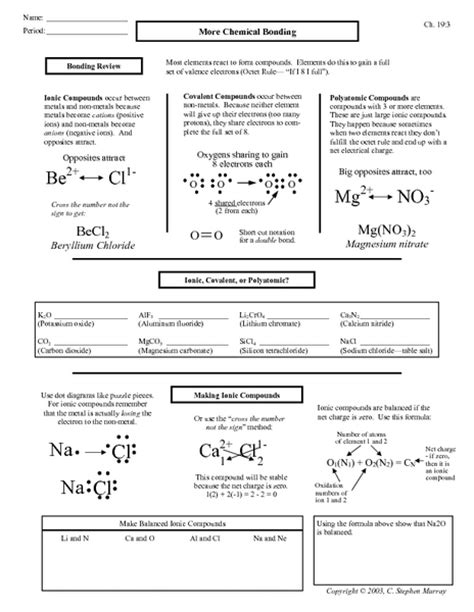All Worksheets » Igcse Chemistry Worksheets With Answers