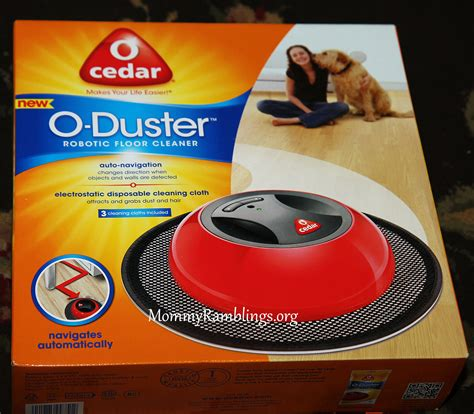 o cedar o duster robotic floor cleaner review giveaway ramblings