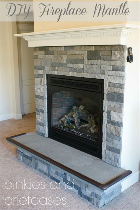 How To Build A Floating Fireplace Mantle • Binkies And