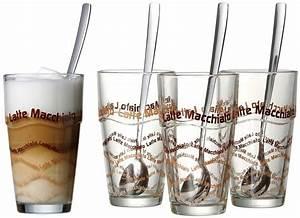 Latte Macchiato Gläser 10 Cm Hoch : flirt by r b longdrink latte macchiato gl ser plus l ffel online kaufen otto ~ Markanthonyermac.com Haus und Dekorationen