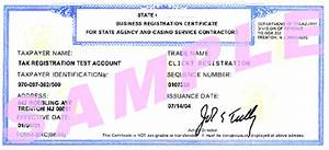 State Business Registration Forms