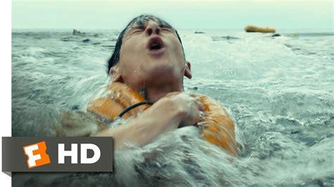 The Boys In The Boat Film by Unbroken 2 10 Movie Clip Plane Crash At Sea 2014 Hd