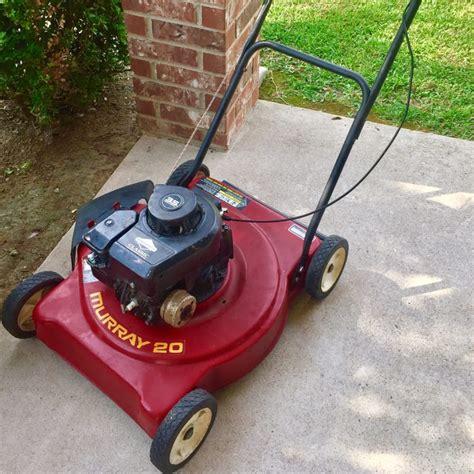 murray lawnmower 3 5 hp push mower runs 20 quot deck