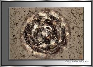 Bilder Auf Leinwand Kaufen : mk1 art bild leinwand abstraktes gem lde kunst bilder malerei braun modern xxl ebay ~ Markanthonyermac.com Haus und Dekorationen