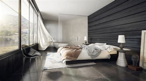 Gorgeous Dark Bedroom Designs With Minimalist And Playful