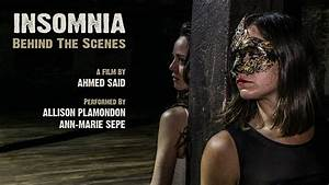 INSOMNIA   A Short Dance Film - Behind The Scenes - YouTube