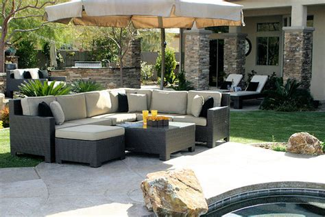 4 types of patio furniture to help turn your backyard into an oasis artlies
