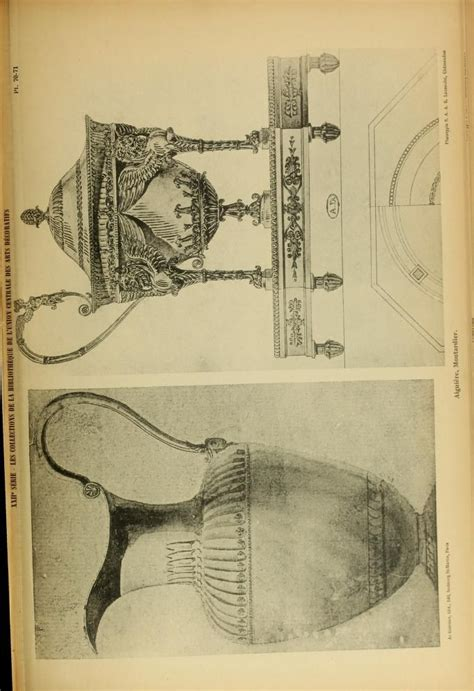1900 more recueil de dessins d orfevrerie du premier empire par biennais orfevre de napol 233 on
