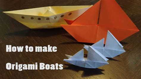 Origami Super Boat by How To Make An Origami Boat Step By Step Guide Stem