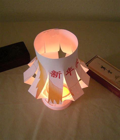 lanterne pour le nouvel an chinois debout ludo le