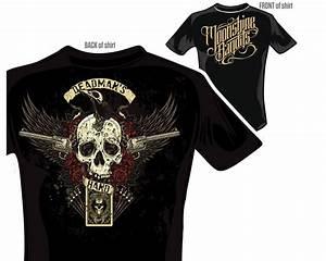 #Moonshinebandits   Deadman's Hand Shirt