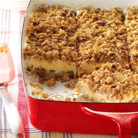 caramel pecan dessert recipe taste of home