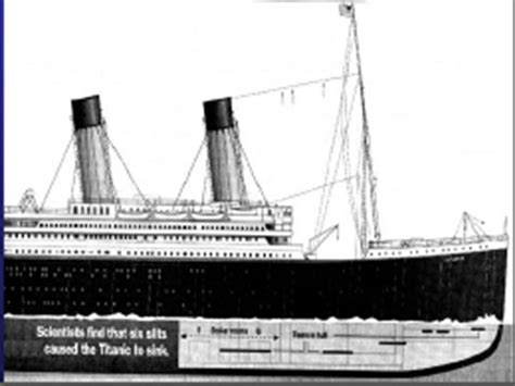 Titanic Boat Structure by 从夜暮到黎明 From Dusk To Dawn From Titanic To Costa Concordia